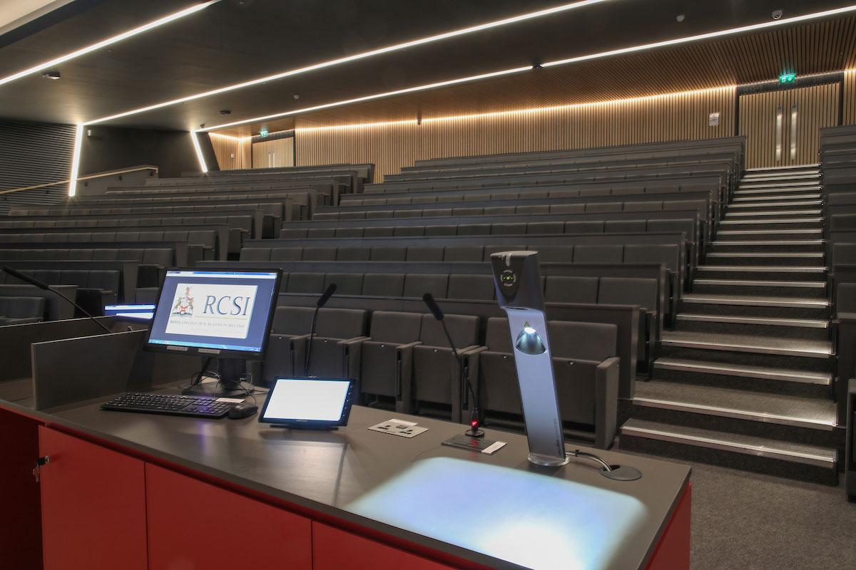 RCSI Desmond Auditorium Lectern