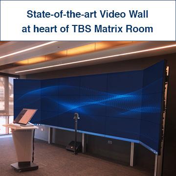 TBS Matrix Room Video Wall